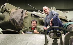 AAF Tank Museum Tanker's Experience Event