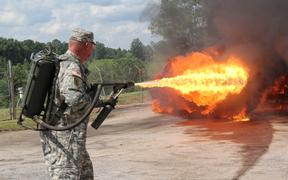 AAF Tank Museum Flamethrower Day