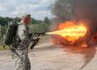 Flamethrower Day at the AAF Tank Museum